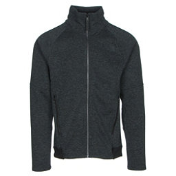 The North Face Far Northern Full Zip Mens Jacket, TNF Black Heather-TNF Black He, 256
