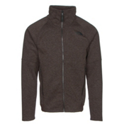 The North Face Far Northern Full Zip Mens Jacket, Coffee Bean Brown Heather-Coff, medium