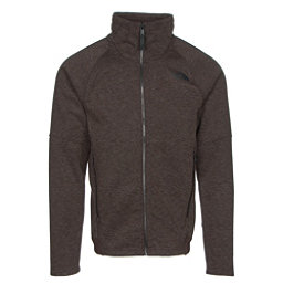 The North Face Far Northern Full Zip Mens Jacket, Coffee Bean Brown Heather-Coff, 256