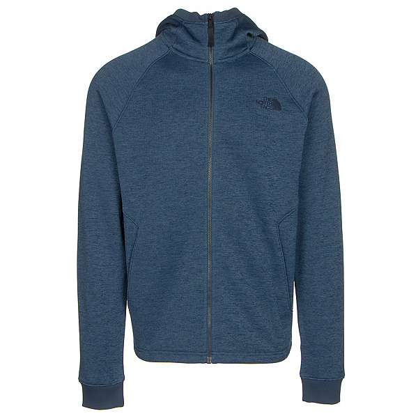 The North Face Norris Point Hoodie Mens Jacket, Shady Blue Heather, 600