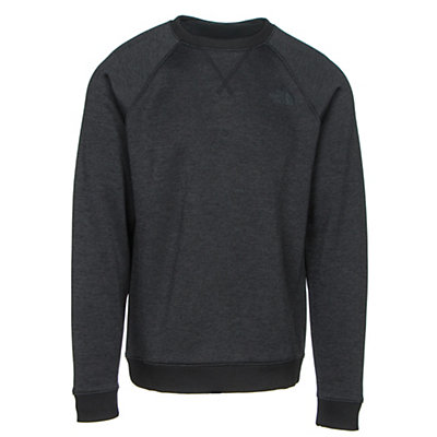 The North Face Norris Point Crew Mens Sweater, TNF Black Heather, viewer