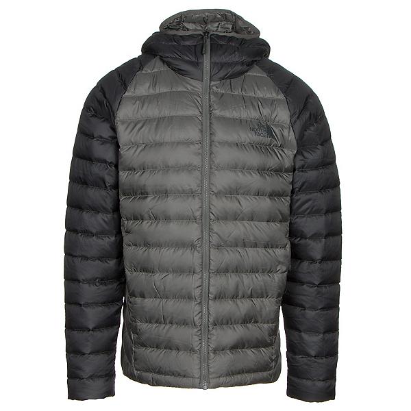 The North Face Trevail Hoodie Mens Jacket, Fusebox Grey-Asphalt Grey, 600