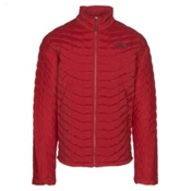 The North Face Stretch ThermoBall Mens Jacket, Cardinal Red, medium