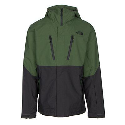 The North Face Baron Jacket Mens Shell Ski Jacket, Vista Green-Asphalt Grey, viewer