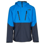 The North Face Baron Jacket Mens Shell Ski Jacket, Bomber Blue-Urban Navy, medium