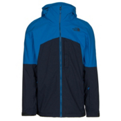 The North Face Gambit Triclimate Mens Insulated Ski Jacket, Bomber Blue-Urban Navy, medium