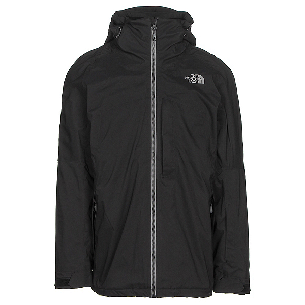 The North Face Gambit Triclimate Mens Insulated Ski Jacket, TNF Black, 600
