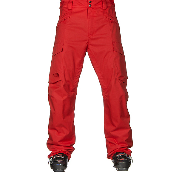 The North Face Gatekeeper Mens Ski Pants, Fiery Red, 600