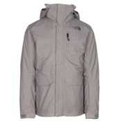 The North Face ThermoBall Snow Triclimate Mens Insulated Ski Jacket, Zinc Grey, medium