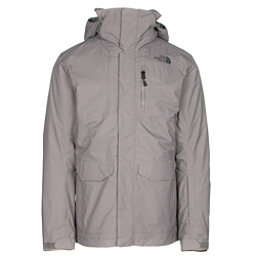 The North Face ThermoBall Snow Triclimate Mens Insulated Ski Jacket, Zinc Grey, 256