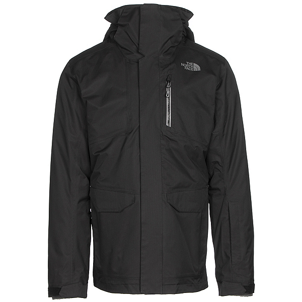 The North Face ThermoBall Snow Triclimate Mens Insulated Ski Jacket, TNF Black, 600