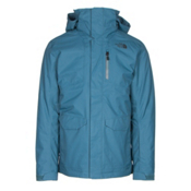 The North Face ThermoBall Snow Triclimate Mens Insulated Ski Jacket, Diesel Blue, medium