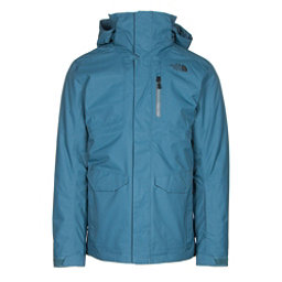 The North Face ThermoBall Snow Triclimate Mens Insulated Ski Jacket, Diesel Blue, 256