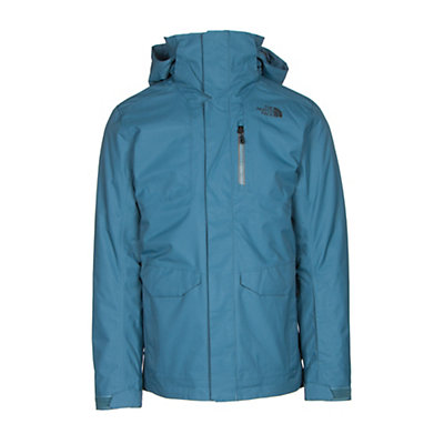 The North Face ThermoBall Snow Triclimate Mens Insulated Ski Jacket, Zinc Grey, viewer