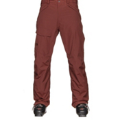 The North Face Freedom Insulated Mens Ski Pants, Hot Chocolate Brown, medium