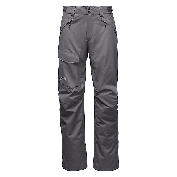 The North Face Freedom Insulated Long Mens Ski Pants (Previous Season), Zinc Grey, 600