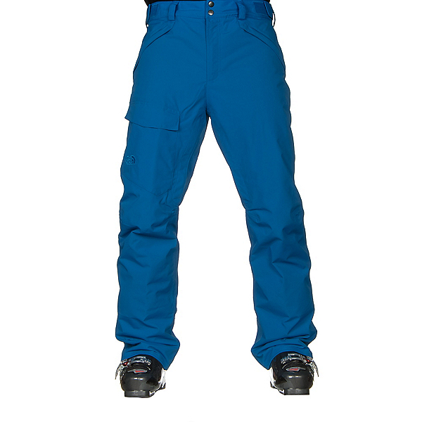 The North Face Freedom Insulated Long Mens Ski Pants, Bomber Blue, 600