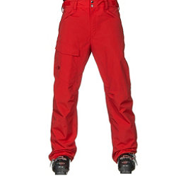 The North Face Freedom Mens Ski Pants, Fiery Red, 256