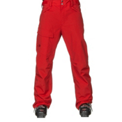The North Face Freedom Short Mens Ski Pants, Fiery Red, medium