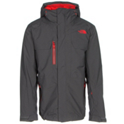 The North Face Hickory Pass Mens Insulated Ski Jacket, Asphalt Grey, medium