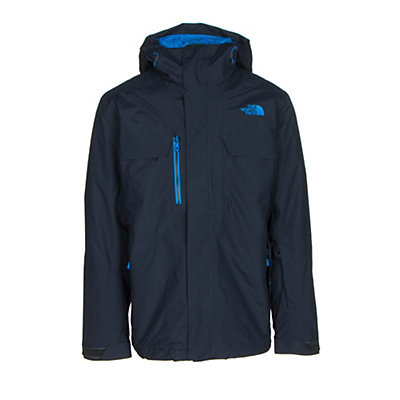 The North Face Hickory Pass Mens Insulated Ski Jacket, Asphalt Grey, viewer
