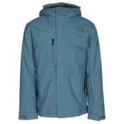 The North Face Hickory Pass Mens Insulated Ski Jacket, Diesel Blue, medium