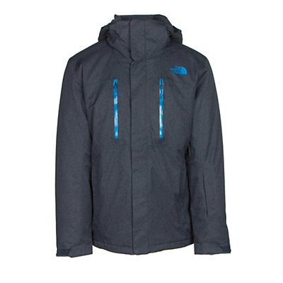 The North Face Powdance Mens Insulated Ski Jacket, Urban Navy Light Heather, viewer