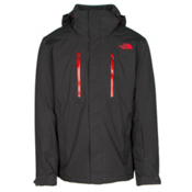 The North Face Powdance Mens Insulated Ski Jacket, Asphalt Grey, medium