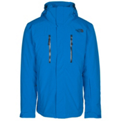 The North Face Powdance Mens Insulated Ski Jacket, Bomber Blue, medium