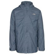 The North Face Brogoda Mens Insulated Ski Jacket, Shady Blue, medium