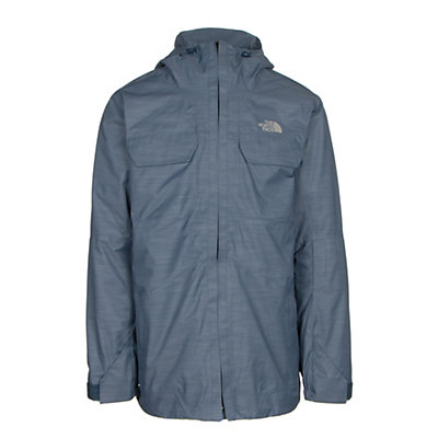 The North Face Brogoda Mens Insulated Ski Jacket, Shady Blue, viewer