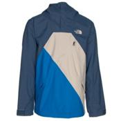 The North Face Dubs Mens Shell Ski Jacket, Shady Blue-Bomber Blue-Campanu, medium