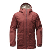 The North Face Tight Ship Mens Shell Ski Jacket, Hot Chocolate Brown Wax, medium