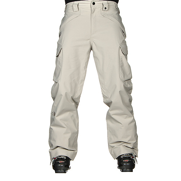 The North Face Slasher Cargo Mens Ski Pants, Dove Grey, 600