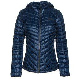 The North Face ThermoBall Hoodie Womens Jacket, Cosmic Blue, 256
