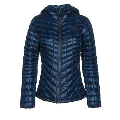 The North Face ThermoBall Hoodie Womens Jacket, Deep Garnet Red, viewer