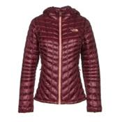The North Face ThermoBall Hoodie Womens Jacket, Deep Garnet Red, medium