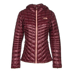 The North Face ThermoBall Hoodie Womens Jacket (Previous Season), Deep Garnet Red, 256