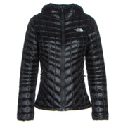 The North Face ThermoBall Hoodie Womens Jacket, TNF Black, medium