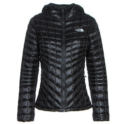 The North Face ThermoBall Hoodie Womens Jacket, TNF Black, 256