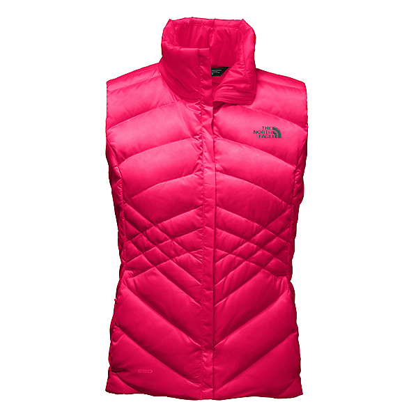 The North Face Aconcagua Womens Vest, Cerise Pink, 600