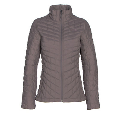 The North Face Stretch ThermoBall Womens Jacket, Rabbit Grey, viewer