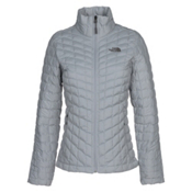 The North Face Stretch ThermoBall Womens Jacket, Mid Grey, medium