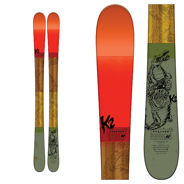 K2 Poacher Jr. Kids Skis 2017, , 600