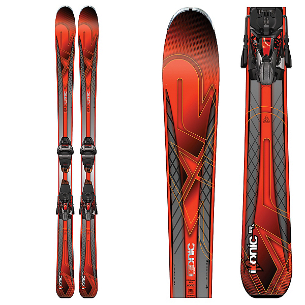 K2 iKonic 85Ti Skis with Marker MXC 12TCX Bindings, , 600
