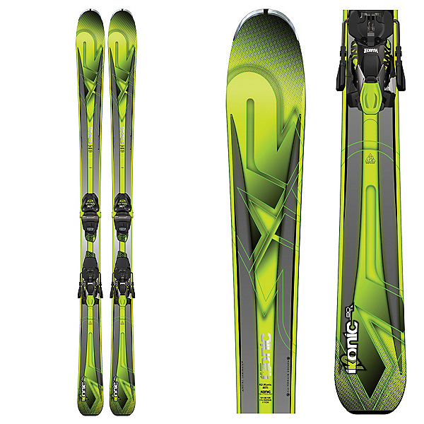 K2 iKonic 80Ti Skis with Marker MXC 12TCX Bindings 2017, , 600