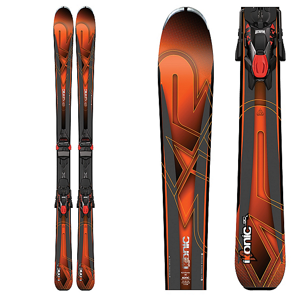 K2 iKonic 80 Skis with Marker M3 12TCX Bindings 2017, , 600