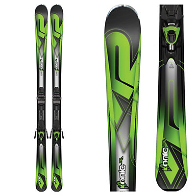 K2 Konic 78Ti Skis with Marker M3 10 Bindings 2017, , viewer