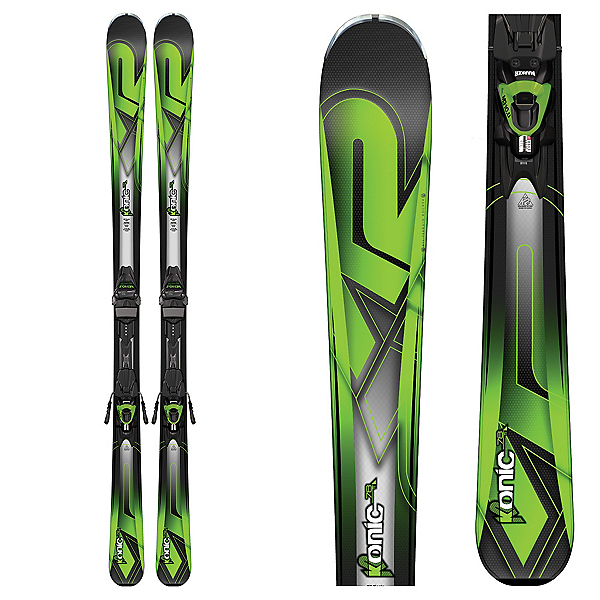 K2 Konic 78Ti Skis with Marker M3 10 Bindings 2017, , 600