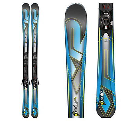 K2 Konic 76 Skis with Marker M2 10 Bindings 2017, , viewer